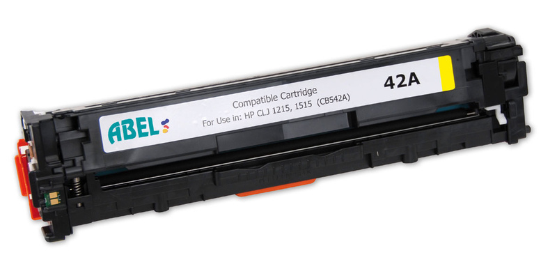 Toner HP LJ 1215 yellow (CB542A) ABEL