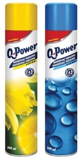 Osvěžovače spray Q-Power - citron